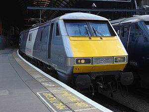 National Express East Coast - Image: 91111 at Kings Cross 4