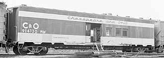 Steam generator (railroad) - Image: 914130 Chesapeake