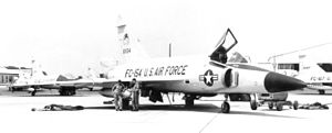 85th Air Division - Image: 95th Fighter Interceptor Squadron Convair F 102A 65 CO Delta Dagger 56 1154