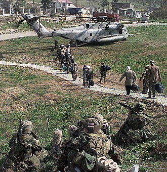 Albanian Civil War - Evacuation of U.S. citizens during Operation Silver Wake