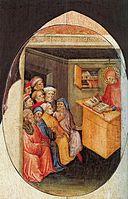 "di Pietro, ""The Saint Teaching Rhetoric"""