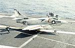A-4C VA-34 on USS Intrepid (CVS-11) 1967.jpg