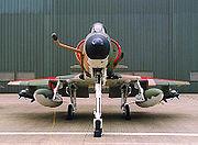 A-4SU Super Skyhawk head on