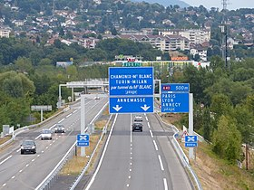 Image illustrative de l'article Autoroute A411 (France)