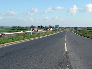 A6055 road A-road in North Yorkshire, England