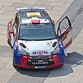 ADAC Rallye Deutschland 2013 - Fahrerpräsentation auf dem Roncalliplatz-4636.jpg