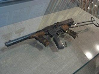 Mikhail Kalashnikov - Kalashnikov's first submachine gun