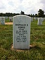 ANCExplorer Donald S. Lopez Sr. grave.jpg