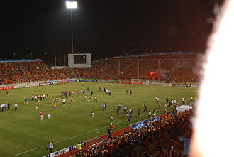 GSP Stadium - The stadium's south stand in 2011
