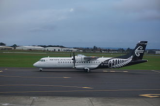 Palmerston North Airport - Air New Zealand Link ATR72-500 at Palmerston North Airport