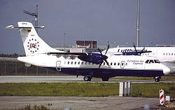 ATR 42-300 der European Air Express
