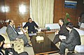 A Chinese delegation calls on the Minister for Information & Broadcasting and Culture Shri S. Jaipal Reddy in New Delhi on November 25, 2004.jpg