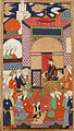 A Court Scene; Page from a Manuscript of Habib al-Siyar of Khwandamir LACMA M.73.5.445.jpg