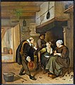 A Gallant Old Man Courting a Young Woman, by Jan Steen, c. 1665, oil on panel - Fogg Art Museum, Harvard University - DSC01316.jpg