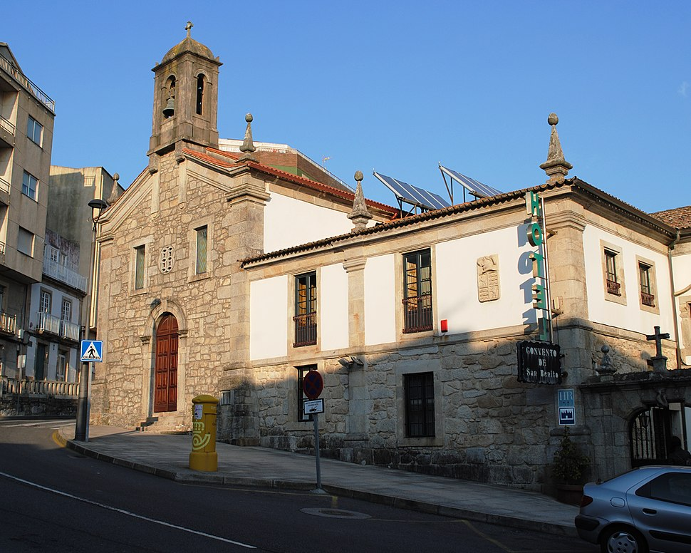 A Guarda, Convento de San Bieito
