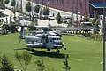 A Marine Corps CH-53E Super Stallion landing at Riverfront Park in Nashville, Tenn. as part of Marine Week Nashville (160906-M-CR240-0067 (29579710991)).jpg