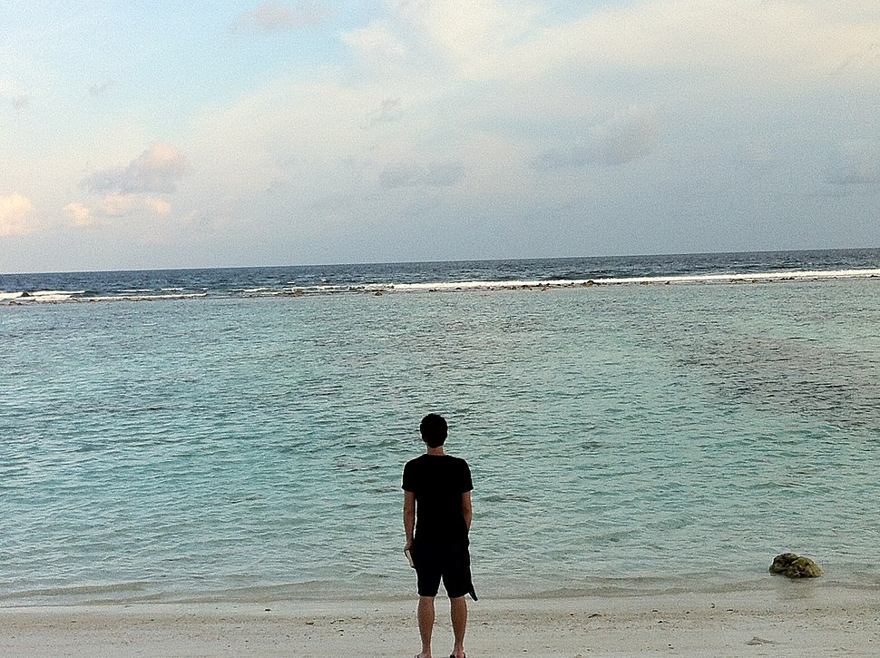 A View of the Laccadive Sea from Villingili