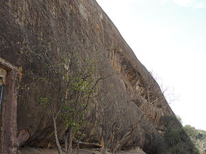 Sittanavasal Cave - Caves in the hill of Sittanavasal