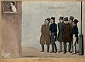 A group of politician ballad singers including Wakley, Charl Wellcome V0050237.jpg