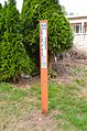 A modern border marker in Monument Park.jpg