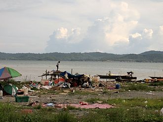Refugees of the Philippines - Image: A settlement in Lahad Datu