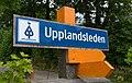 A sign of Upplandsleden, Sweden 16.jpg