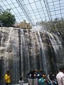 A water fall in birds garden in ramoji film city.jpg
