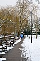 Abbey Gardens after snow, Winchester - geograph.org.uk - 1146075.jpg