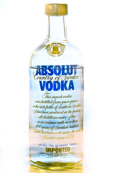 absolut vodka largest brand of alcoholic Largest consumer base among all types of spirits  absolut, a premium brand  priced at $2199, was consumed by 45% of vodka drinkers,  influx of flavored  vodkas and new mixed drink recipes has made the spirit segment even more.