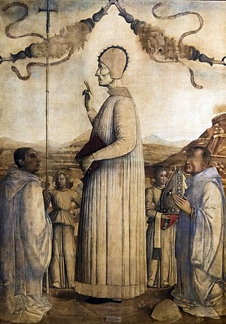 Lawrence Giustiniani - Image: Accademia Lorenzo Giustiniani by Gentile bellini
