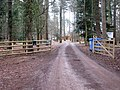 Access to the Thorpe Woodlands Adventure Centre - geograph.org.uk - 1710070.jpg