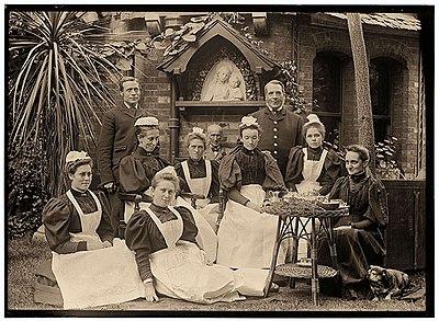 Acland servants 1897 by Sarah Acland.jpg