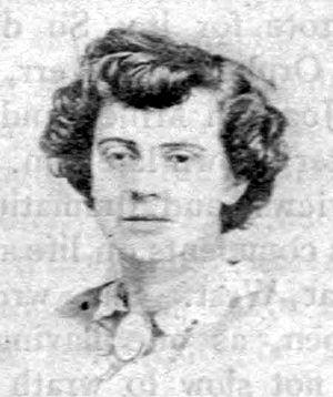 Ada Clare - Ada Clare (photo courtesy of the Bancroft Library, University of California at Berkeley)