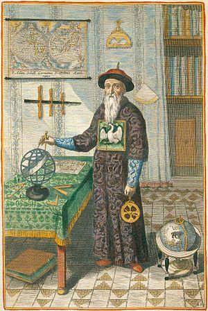 Johann Adam Schall von Bell - Portrait of Adam Schall