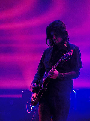 Tool (band) - Guitarist Adam Jones performing at Roskilde Festival 2006.
