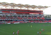 Adelaide v Gold Coast - Carrara media facilities.jpg