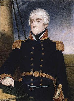 Sir Charles Ogle, 2nd Baronet - Admiral Sir Charles Ogle, Bart, portrait by Cornelius Durham, 1850