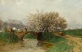Adolf Gustav Ditscheiner - Apfelblüten.png
