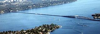 Evergreen Point Floating Bridge (1963) floating bridge opened 1963