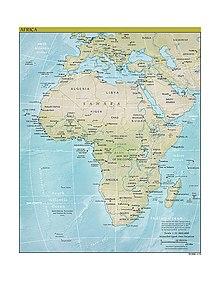 Panstwa Afryki Wikipedia Wolna Encyklopedia
