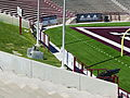Aggie Memorial Stadium - ROTC Cannon & Bell.JPG
