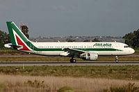 EI-DTF - A320 - Alitalia