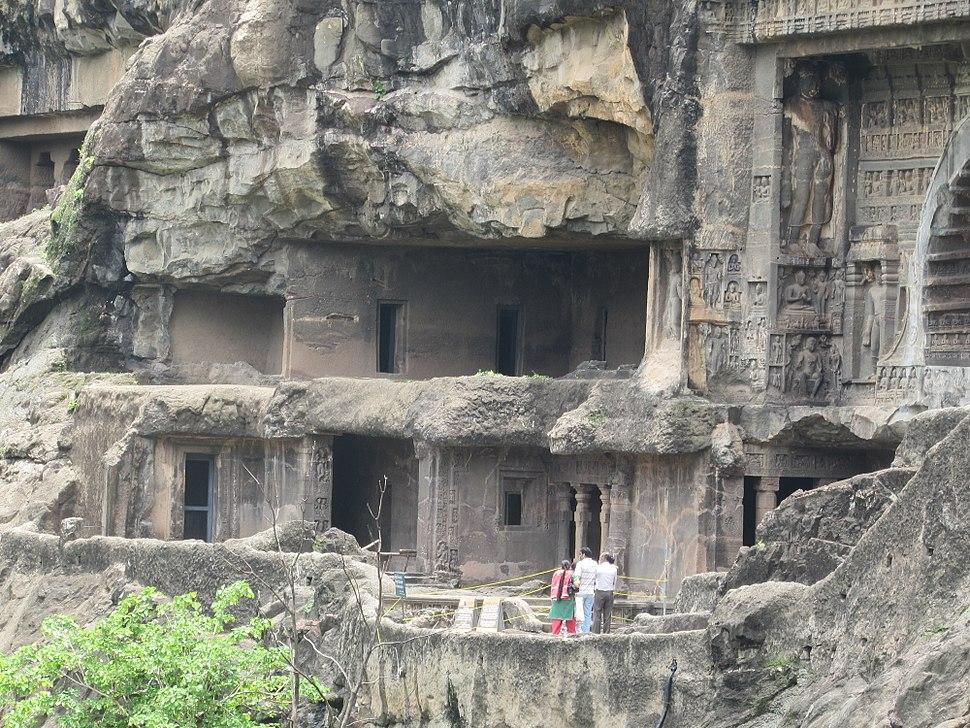 Ajanta caves Maharashtra 205