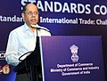 "Ajit Seth delivering the valedictory address at the closing session of the Standards Conclave 2015 on ""Role of Standards in International Trade Challenges, Opportunities & Issues"".jpg"