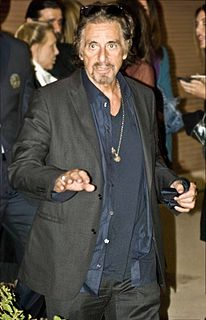 Al Pacino on stage and screen Cataloging of performances by the American filmmaker