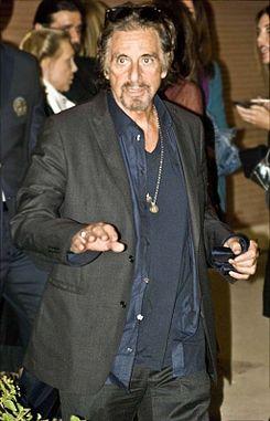 Jusqu'à euros pour rencontrer Al Pacino : le directeur du théâtre