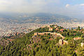 Alanya. View to the Castle walls and city housing.jpg