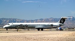 Alaska Airlines McDonnell Douglas MD-83 N958AS.jpg