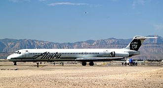 Alaska Airlines was the launch customer for the MD-83 and operated many of these jets throughout the 1980s and 1990s. Alaska Airlines McDonnell Douglas MD-83 N958AS.jpg