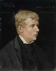 The Artist Aukusti Uotila, Study for the Duke Karl Insulting the Corpse of Klaus Fleming